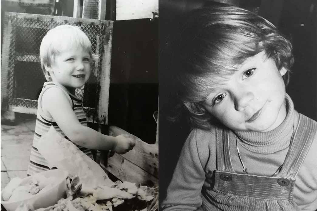 Kinderbild Von Julia Seidel Und Anja Carsten, Gründerinnen Von Hubus
